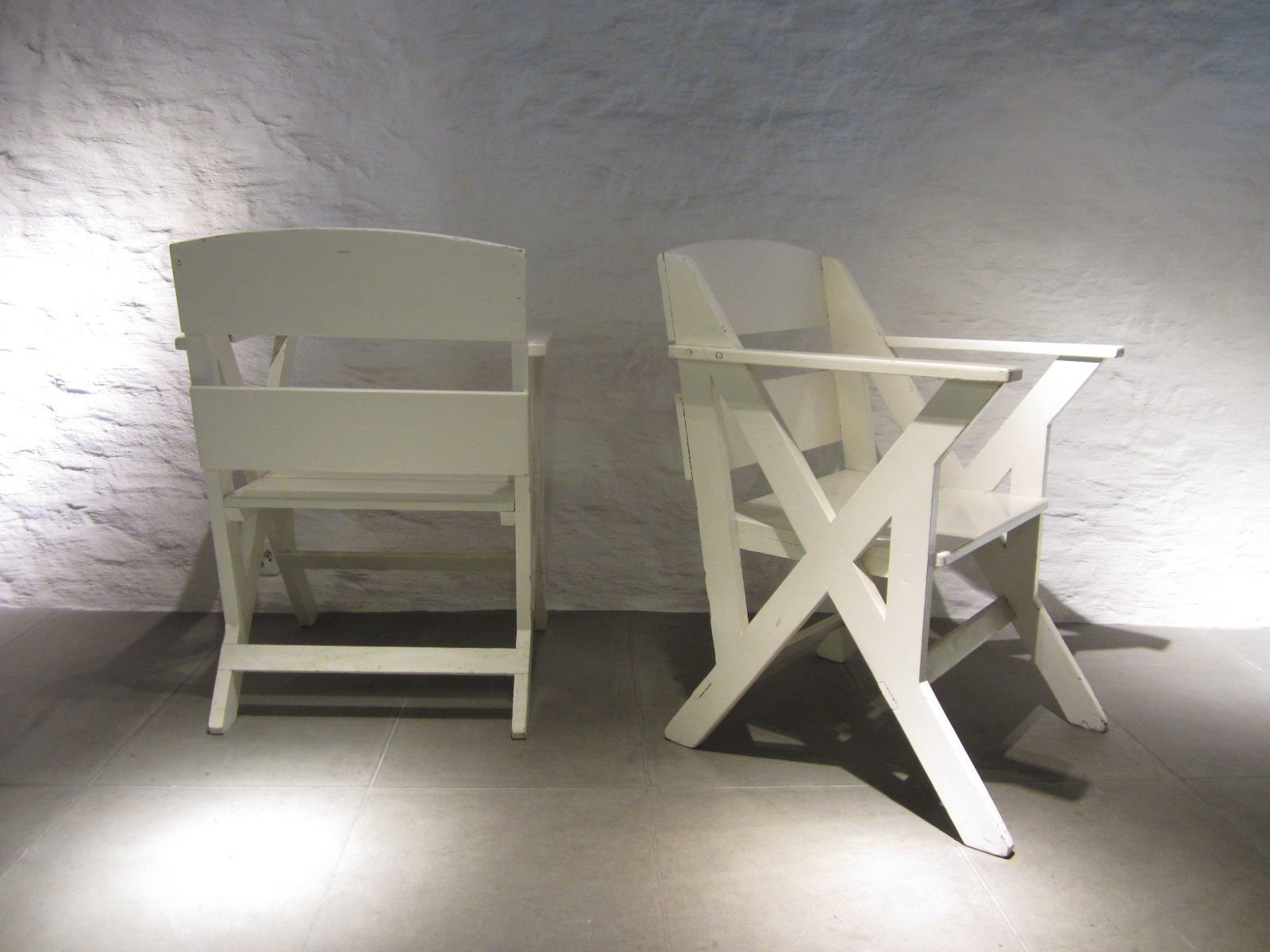veranda chair design wooden swivel desk french chairs 1940s set of 2 for sale at pamono
