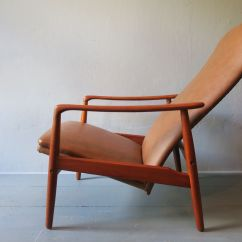 Correct Posture Lounge Chair Steel Used In Wwe Danish Two Position Reclining Teak By Alf