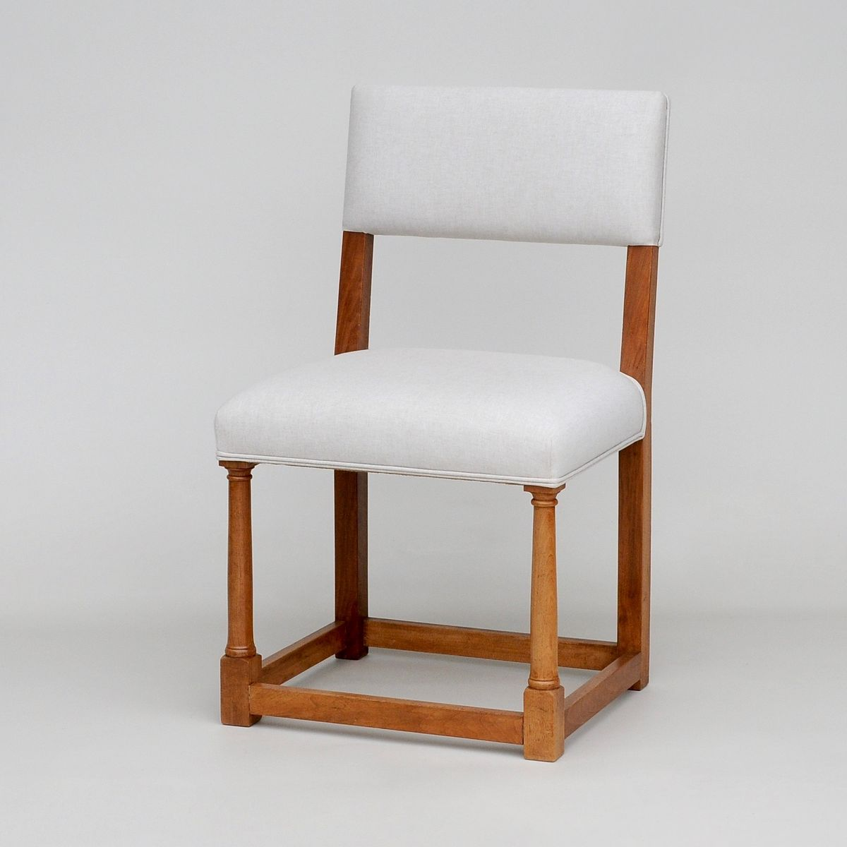 set of 8 dining chairs portable high chair booster french walnut 1920s for sale at