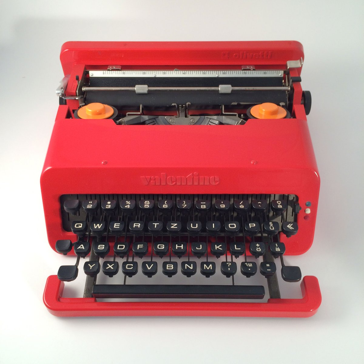 Valentine Typewriter By Ettore Sottsass For Olivetti For
