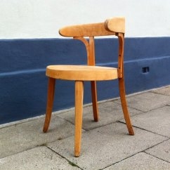 Bauhaus Swivel Chair Mid Century Childrens Table And Chairs Vintage Danish Style Bent Beech Desk By