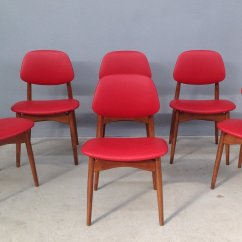 Italian Dining Chairs Australia Hammock Chair Stand Plans Beech And Leather 1950s Set Of 6 For