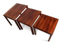 Mid-Century Rosewood Nesting Tables, 1970s for sale at Pamono