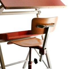 Drafting Table Chairs Kneeling Chair Canada French Drawing And 1970s For Sale At Pamono