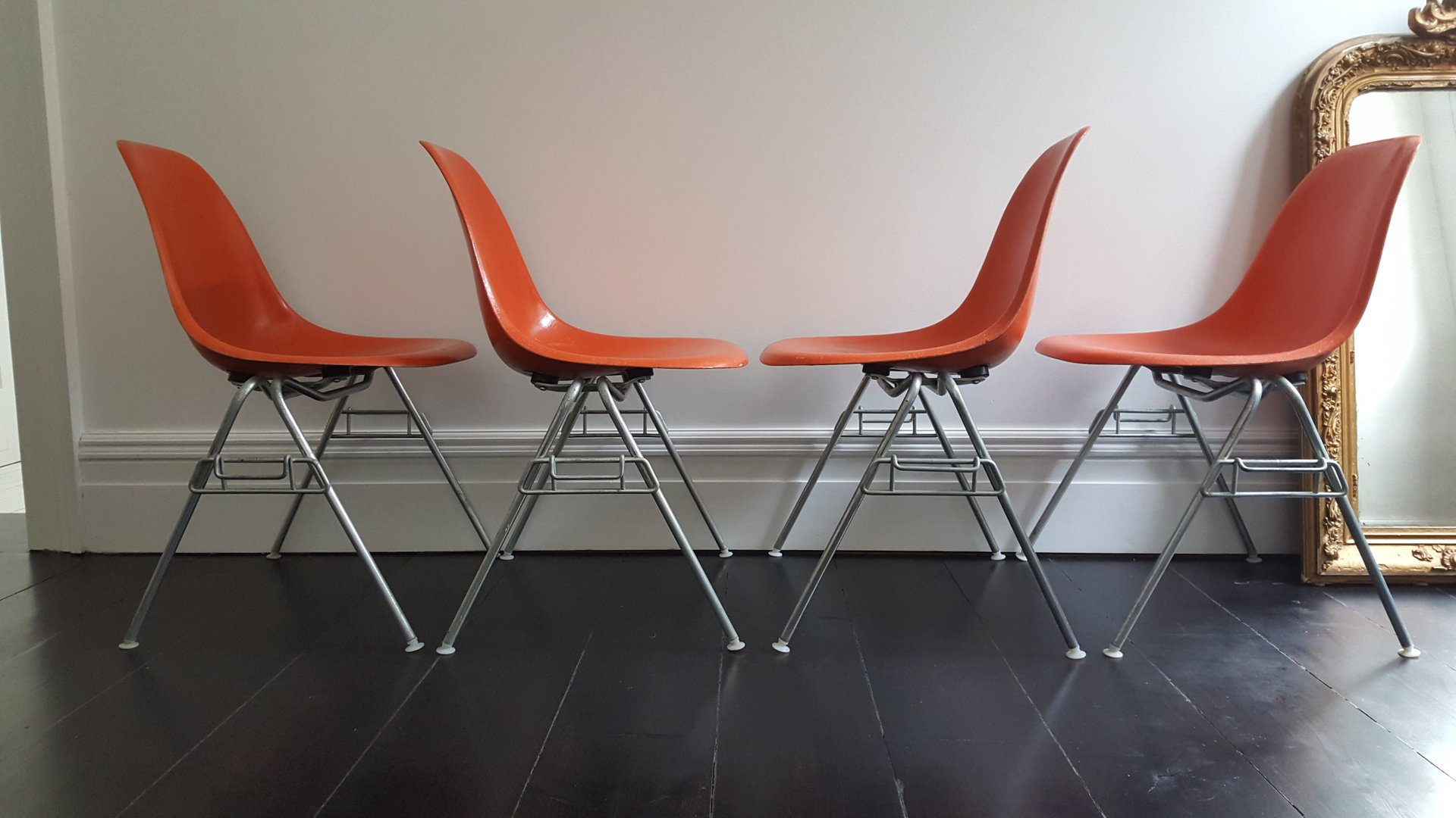 herman miller chairs vintage mesh office chair uk dss fiberglass shell by charles and ray eames