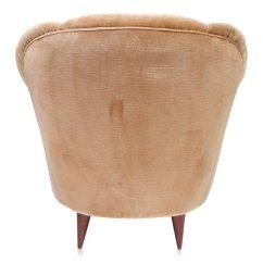 Gold Velvet Chair Posture Au Art Deco Light Club Chairs 1940s Set Of 2