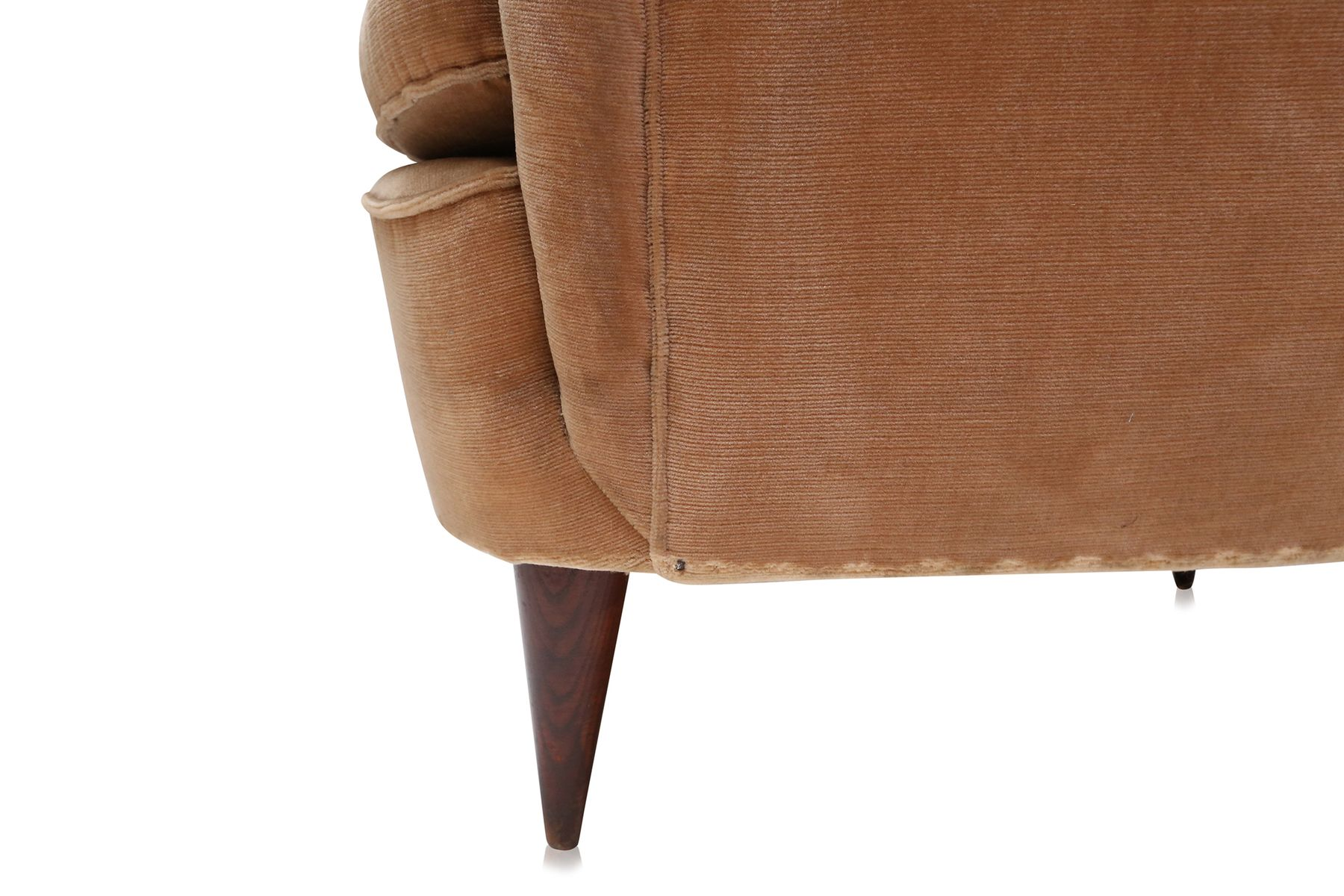 gold velvet chair best chairs inc art deco light club 1940s set of 2