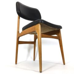 Vintage Wooden Dining Chairs Room Chair Seat Covers Uk And Leatherette Set Of 4 For
