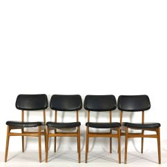 Vintage Wooden Dining Chairs Buy Chair Covers And Sashes Leatherette Set Of 4 For