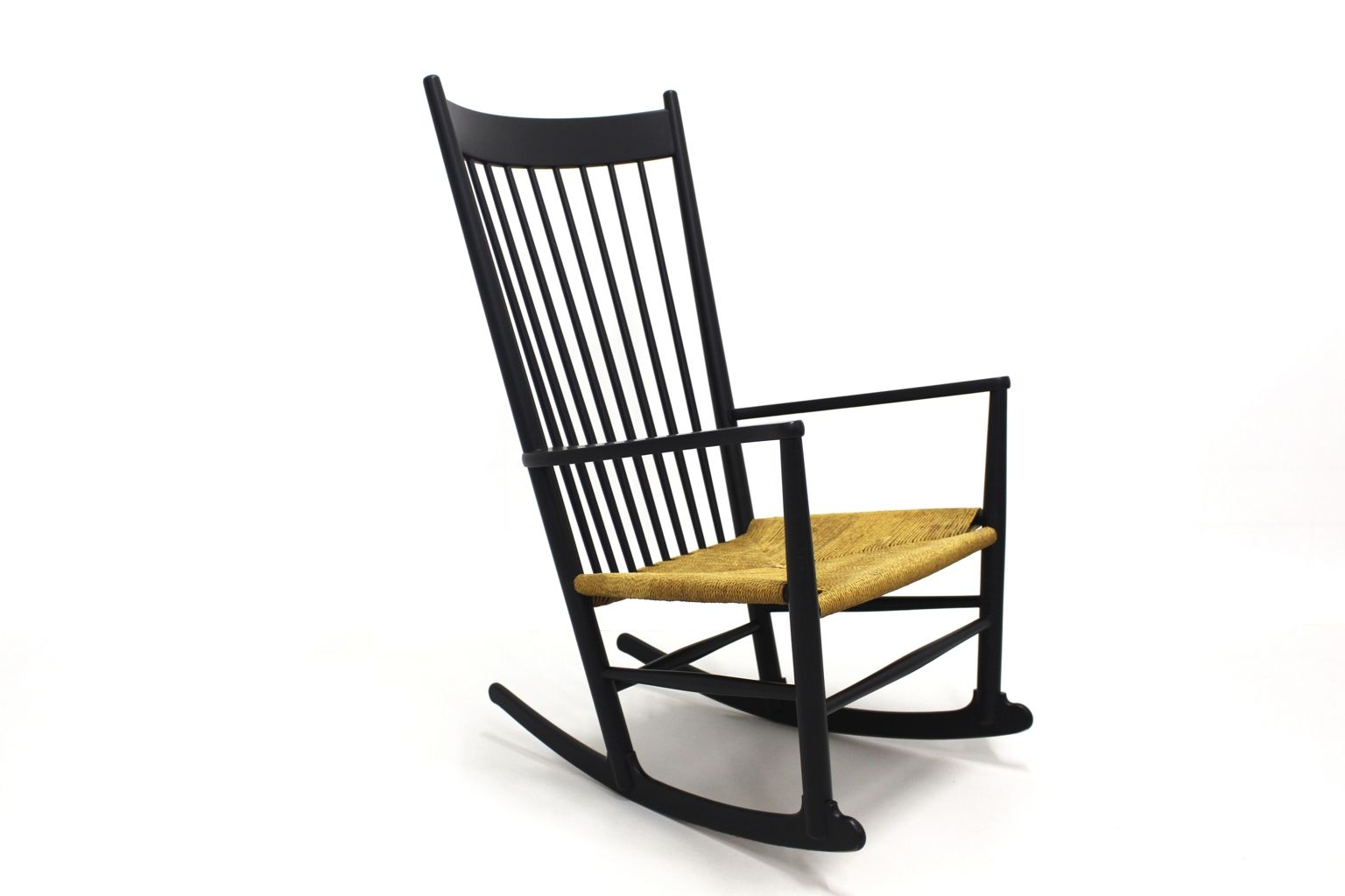 hans wegner rocking chair hon ignition mesh manual j16 by 1964 for sale at pamono