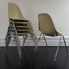 Fiberglass Shell Chair Portable Dental Vintage Dss By Charles And Ray Eames