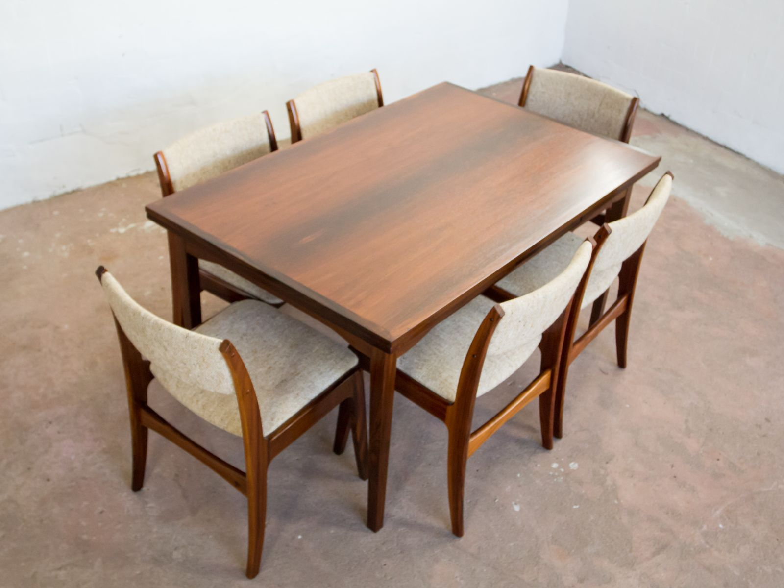 skovby rosewood dining chairs tub chair and stool from 1960s set of 6 for