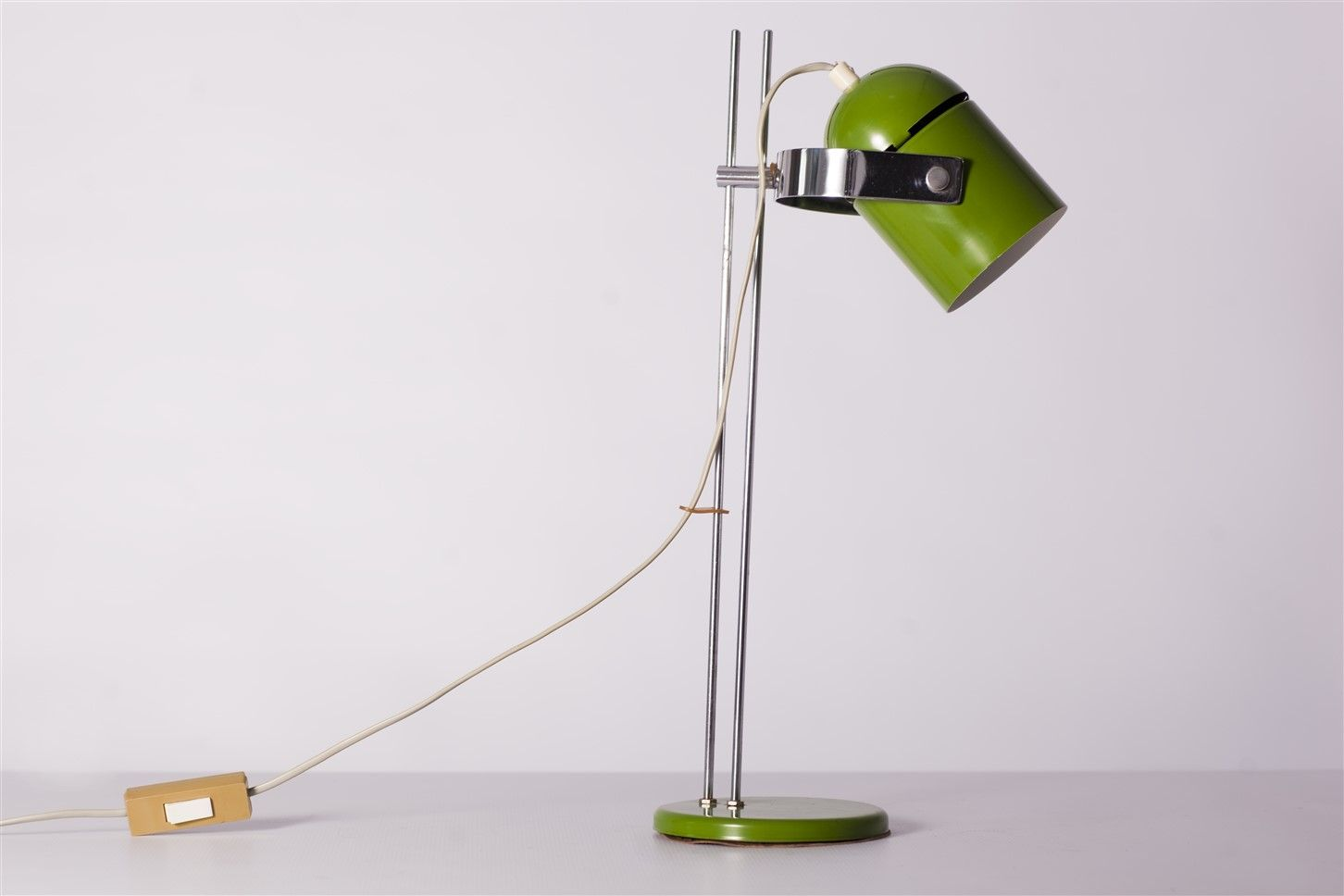 Green Table Lamp by Stanislav Indra, 1960s for sale at Pamono