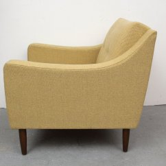 Yellow Club Chair Office Ballet German 1950s For Sale At Pamono