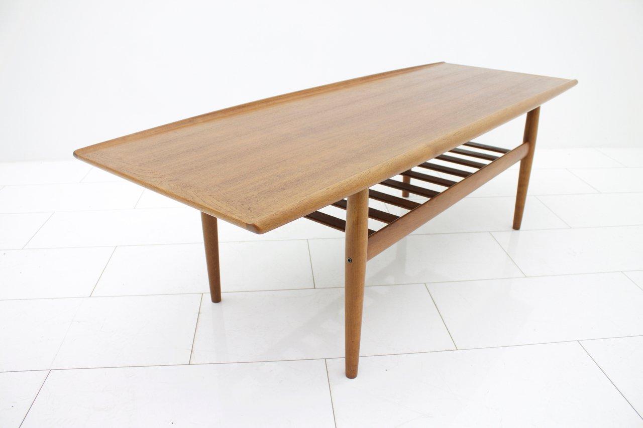 teak sofa table bettsofas gunstig berlin vintage by grete jalk for p jeppensens