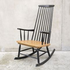Black Rocking Chairs Gaming Chair Xbox One Smyths 1960s For Sale At Pamono