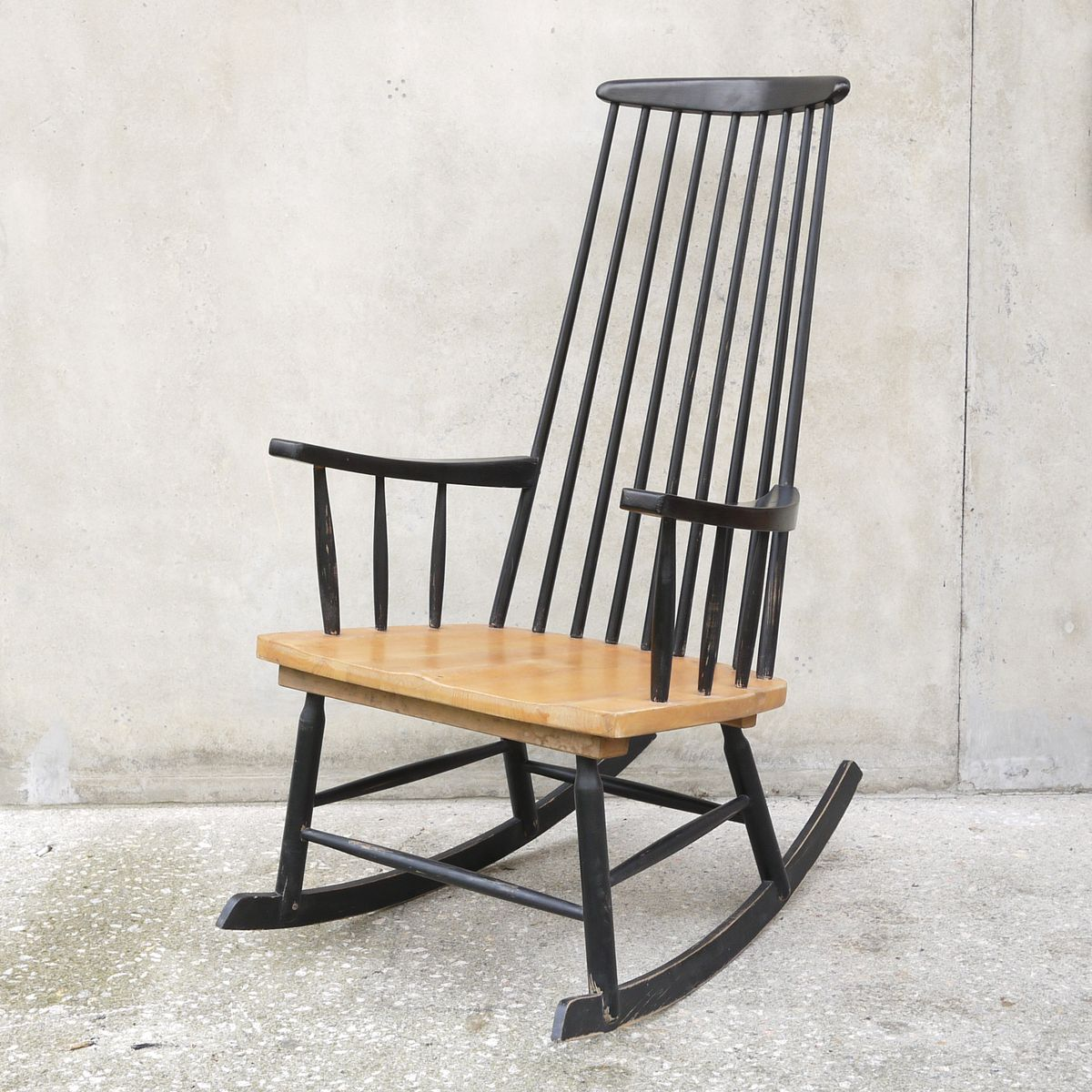 Black Chairs For Sale Black Rocking Chair 1960s For Sale At Pamono