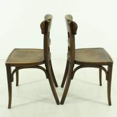 2 X 4 Dining Chairs Bistro Folding Vintage 1930s Set Of For Sale At Pamono