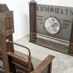Vintage Electric Chair Stackable Toddler Chairs Film Prop And Propeller Wall For Sale