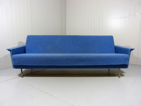 Blue Daybed 1950s Pamono