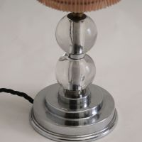 Mid-Century Modern Table Lamp with Glass Stem for sale at ...