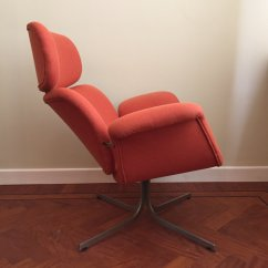 Large Lounge Chair Exercise Ball Office Target By Pierre Paulin For Artifort 1960s