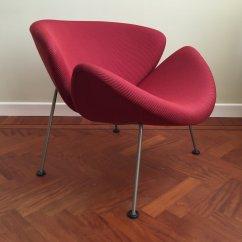 Orange Slice Chair Grey Bedroom Tub Vintage Lounge By Pierre Paulin For