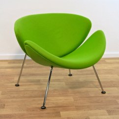 Orange Slice Chair Chairs Good For Back Problems F 437 Lounge By Pierre Paulin