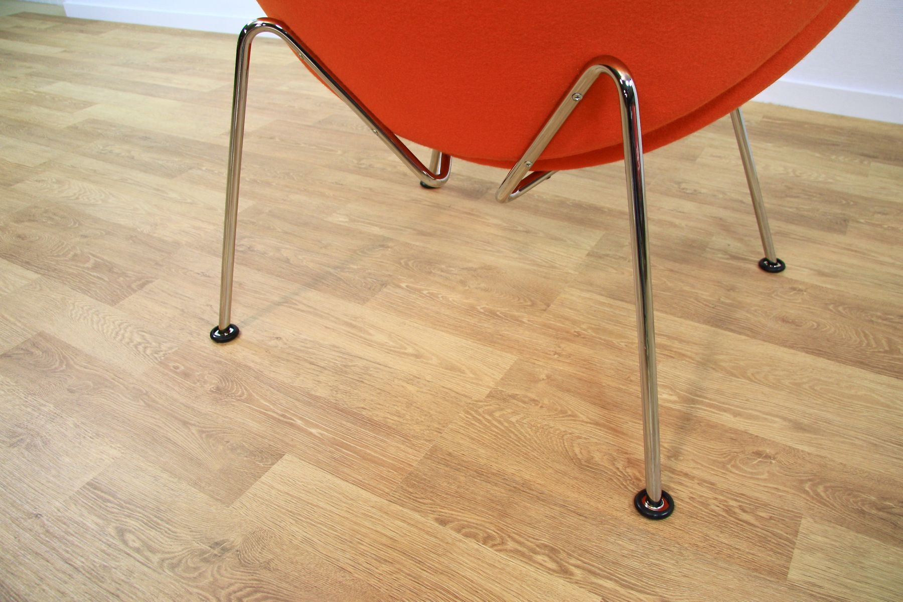 orange slice chair ikea childrens table and chairs f437 lounge by pierre paulin for