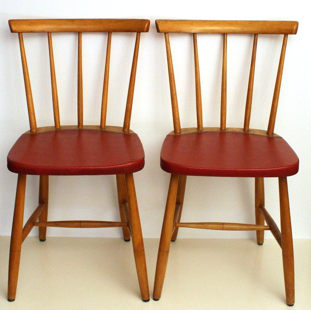 Vintage Chairs Mid Century Vintage Dining Chairs 1960s Set Of 4 For