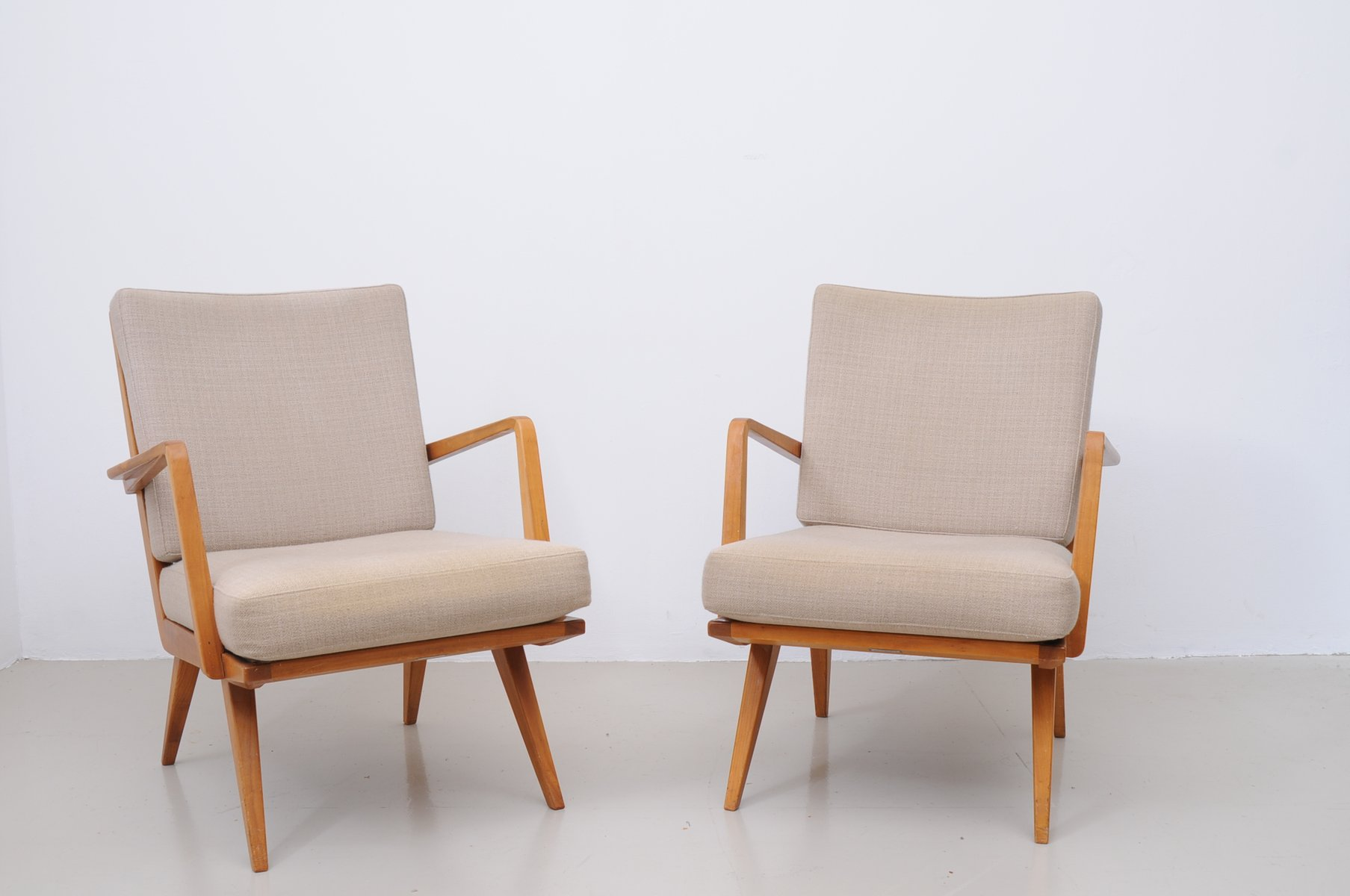arm chairs fisher price chair mid century armchairs from knoll set of 2 for sale at pamono