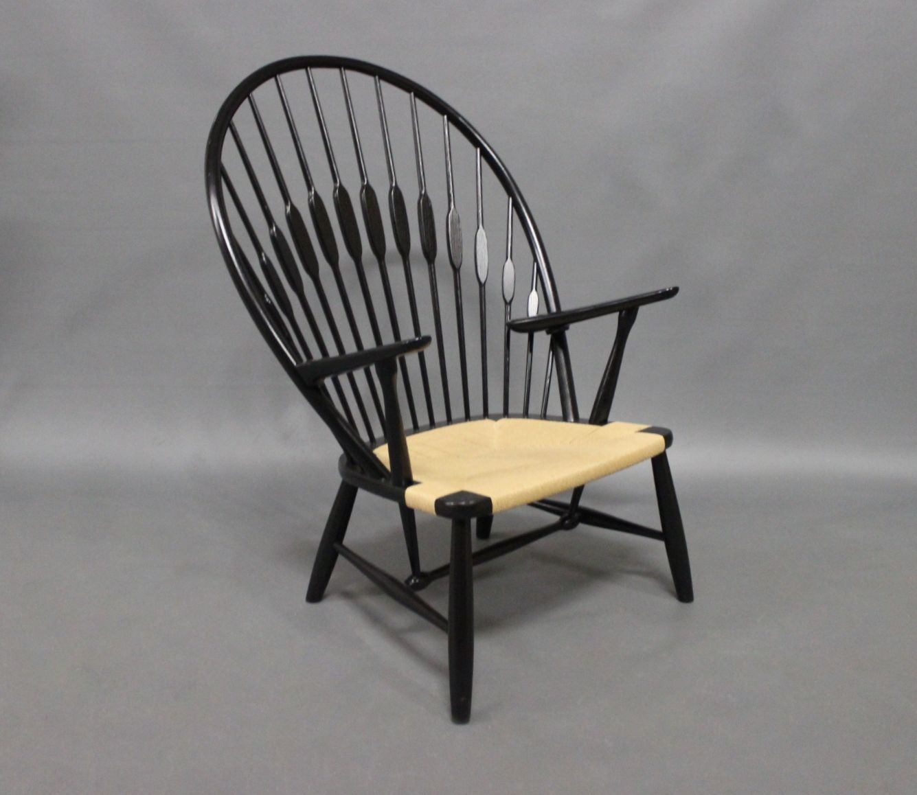 vintage peacock chair office furniture table and chairs by hans j wegner 1980s for sale at