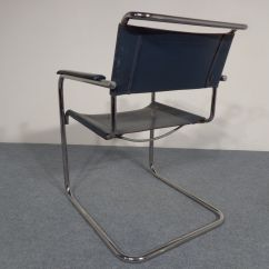 Mart Stam Chair Cover Depot Promo Code Vintage S34 Cantilevered Leather Chairs By For