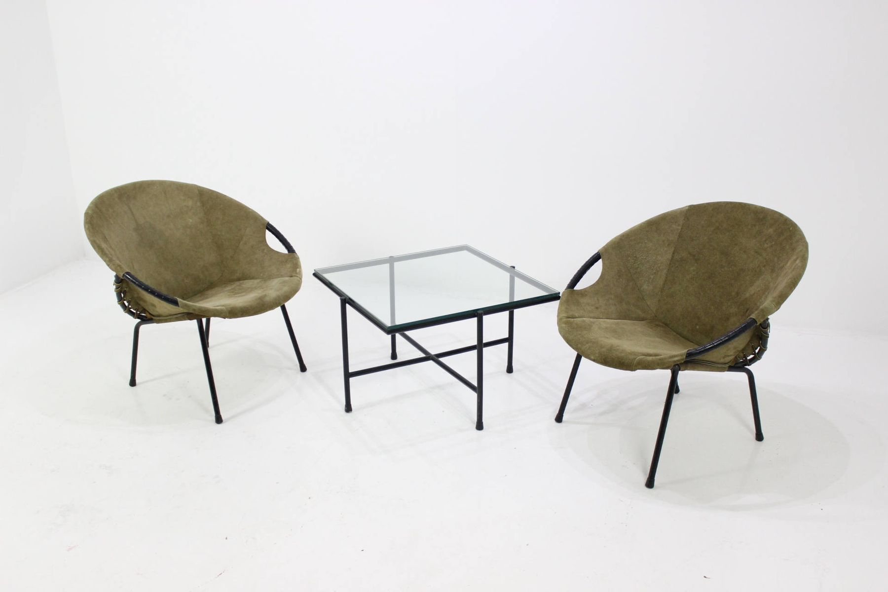 co chairs circle upholstery for chair armchairs and coffee table by lusch erzeugnis
