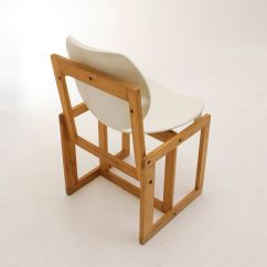 White Plastic Chair Potty Chairs For Babies Vintage Italian Wood And 1970s