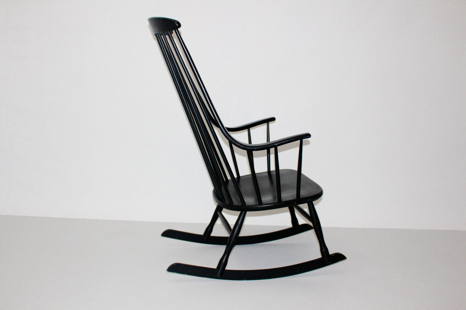 black rocking chair high cover pad grandessa by lena larsson for nesto