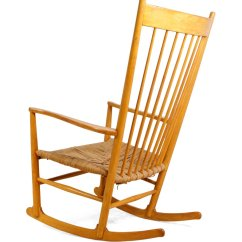 Hans Wegner Rocking Chair Massage Pad For Car Vintage J16 Beech By J Sale