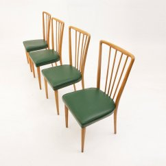 Italian Dining Chairs Australia Lounge Chair Covers Vintage 1950s Set Of 4 For Sale At