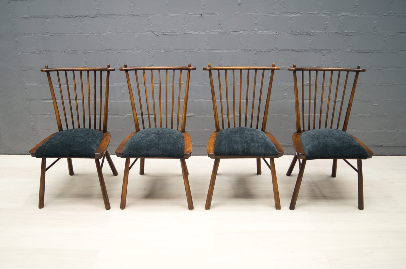 vintage wooden dining chairs folding for sale wholesale 1950s set of 4 at