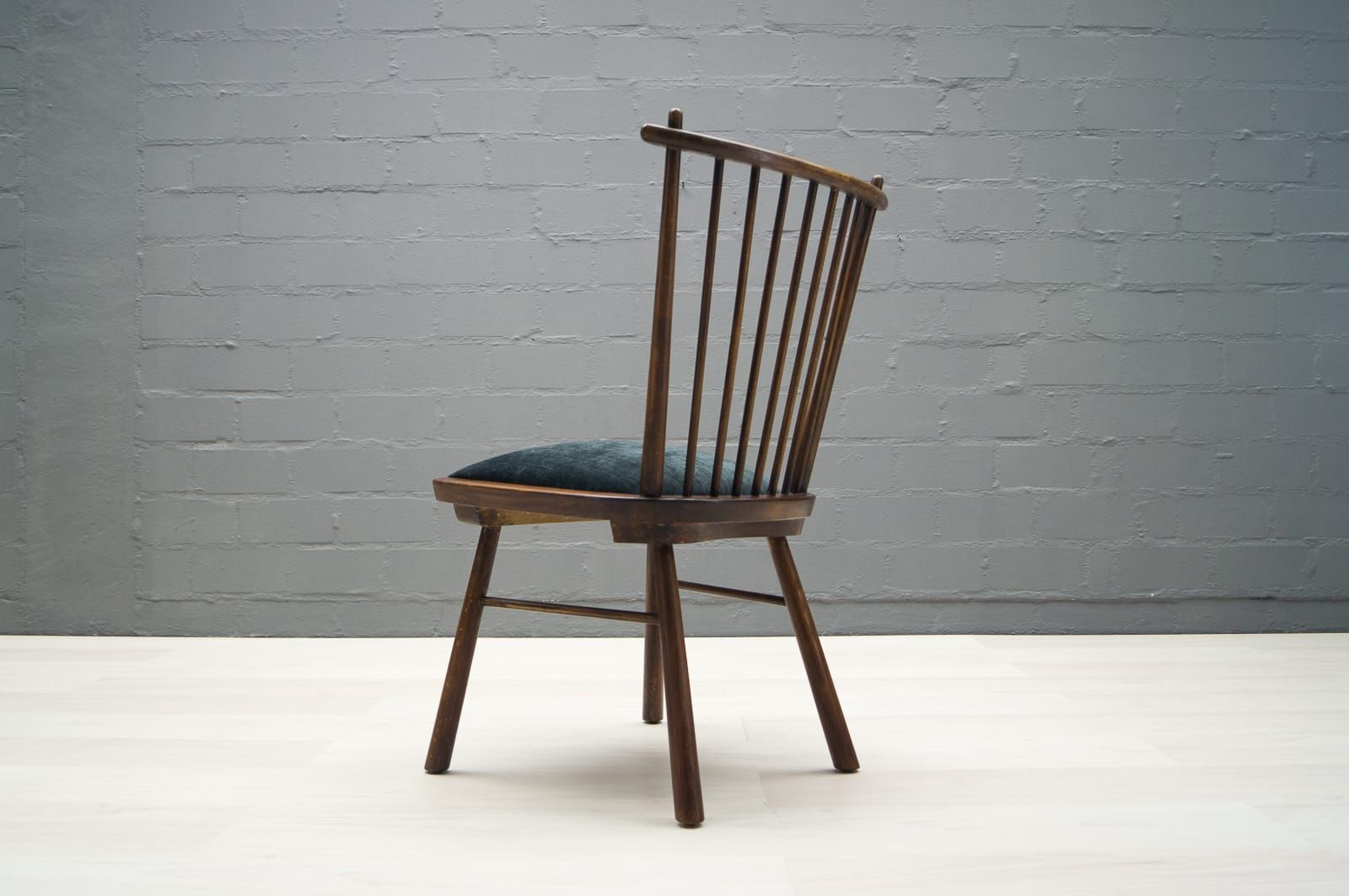 vintage wooden dining chairs posture fixing chair 1950s set of 4 for sale at