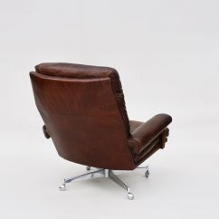 Swivel Chairs For Sale Wunda Chair Accessories Leather 1960s Set Of 2 At Pamono