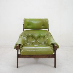 Green Lounge Chair Tufted Wingback Leather Model Mp 041 Lime And Ottoman