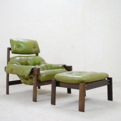 Green Lounge Chair Blue Velvet Covers Model Mp 041 Lime Leather And Ottoman