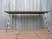 Mid-Century Industrial Rural Side Table for sale at Pamono