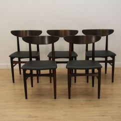 Skovby Rosewood Dining Chairs Lawn On Sale Danish From Mobelfabrik 1960s Set