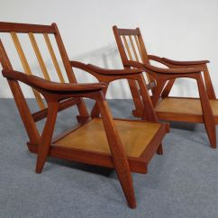 Teak Chaise Lounge Chairs Sale Chair Covers Hire Toowoomba 1950s Set Of 2 For At Pamono