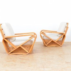 Bamboo Chairs For Sale Navy Blue Chair Sashes Vintage Lounge Set Of 2 At Pamono