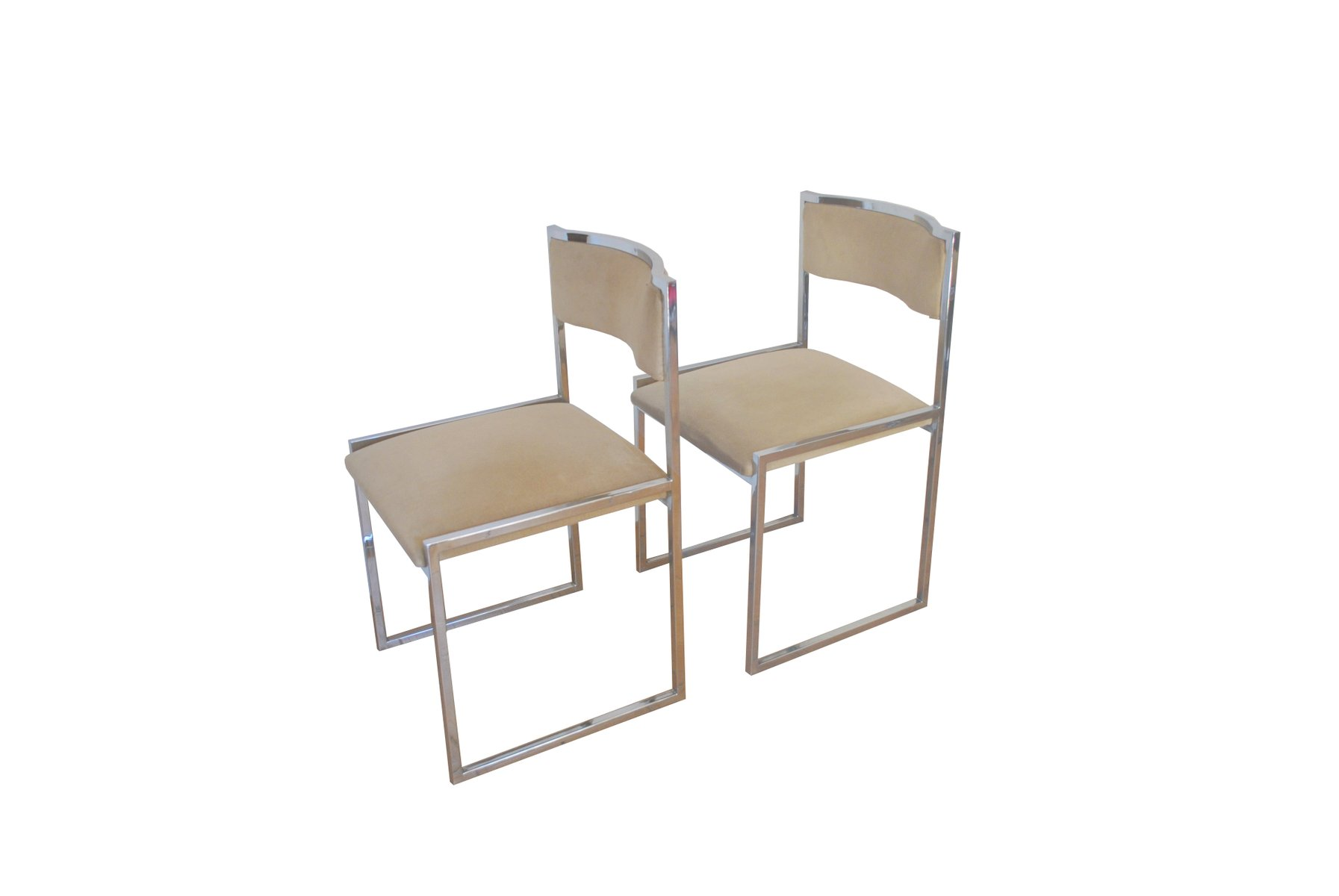 chrome dining chairs australia rocking chair covers uk italian steel and 1970s for sale at pamono