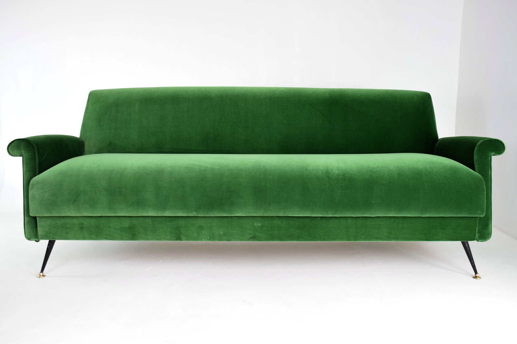 organic sofa uk cream l shaped mid century italian green velvet for sale at pamono