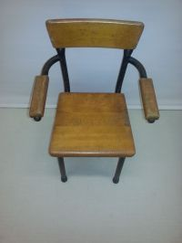 Vintage Toddler's Chair by Willy van der Meeren for Tubax ...